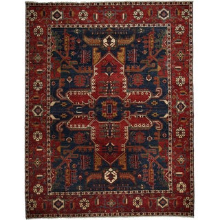 "Ziegler Hand Knotted Area Rug - 8'10"" X 11'5"""