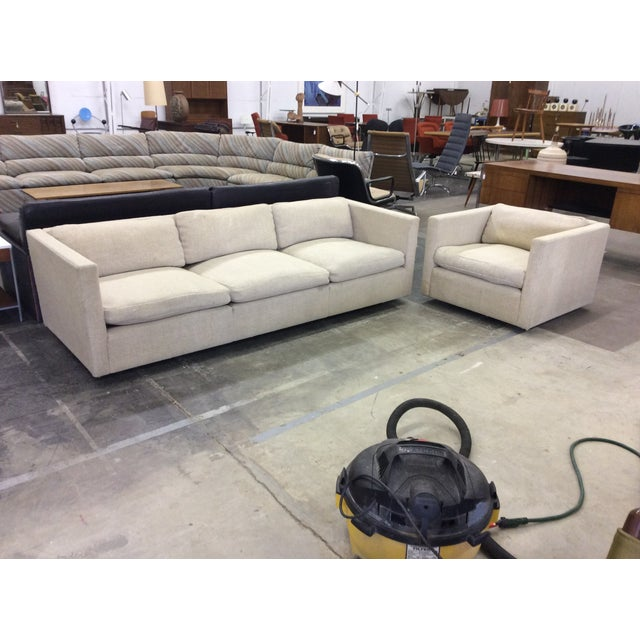 Charles Pfister Knoll 3 Seat Down Filled Sofa Chairish