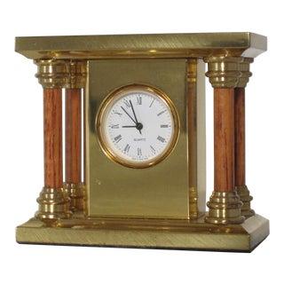 Solid Brass Clock