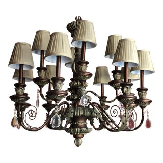 Century Furniture 10-Arm Chandelier