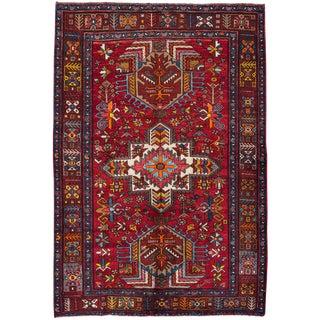 "Apadana Vintage Persian Heriz Rug - 4'7"" x 6'10"""