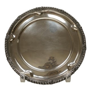1950s Sanborn Sterling Silver Charger