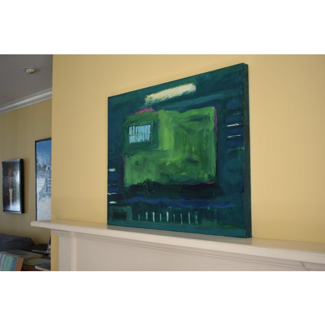 "Stephen Remick ""Garden Party, Waning"" Abstract Painting - Image 3 of 8"
