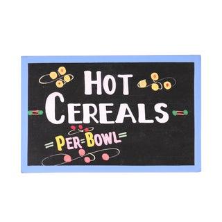 Hot Cereals Sign