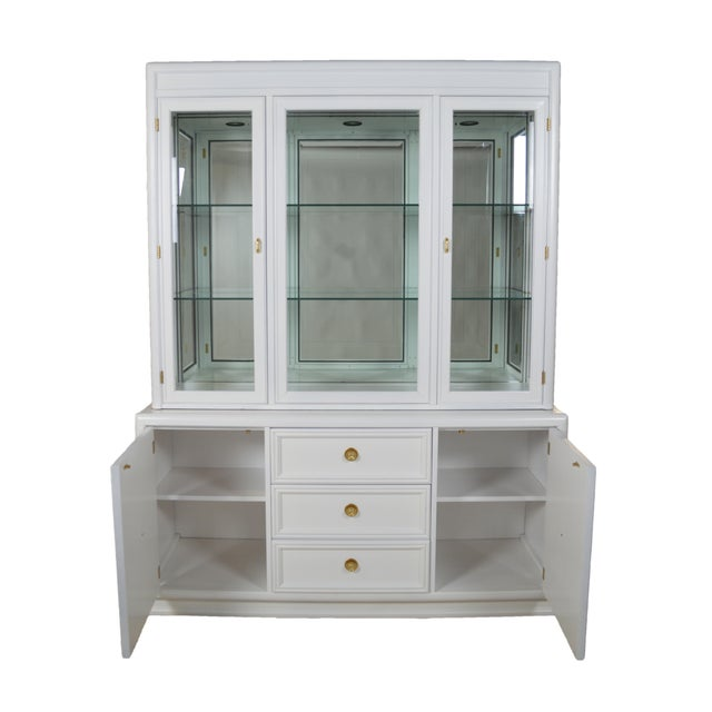 Thomasville Hollywood Regency-Style Cabinet - Image 5 of 6