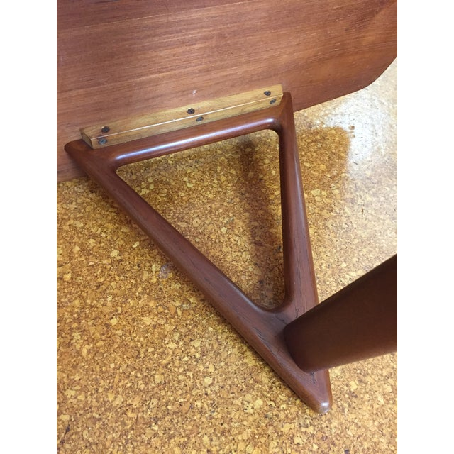 Image of Mid-Century Danish Modern Teak Coffee Table by Kurt Ostervig for Jason Mobler
