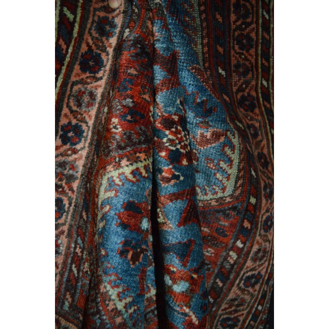 Antique Persian Khamseh Tribal Rug - 2′8″ × 3′9″ - Image 6 of 7