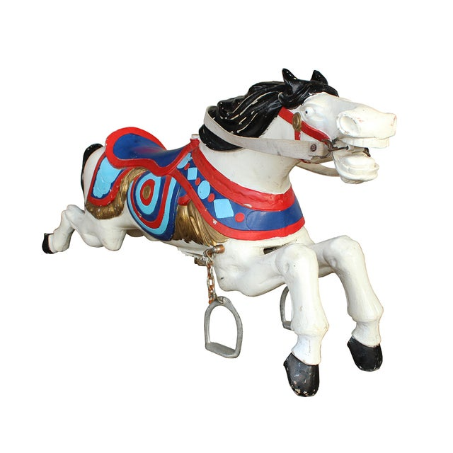 Parker Brothers Carousel Horse - Image 2 of 4