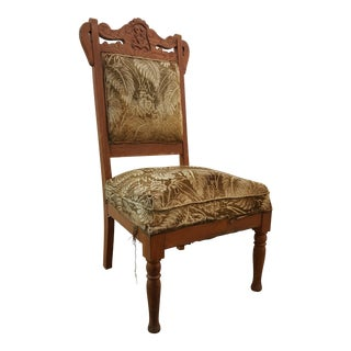 Victorian Carved Side Chair