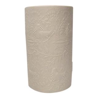 Danish Modern Bjorn Wiinblad for Rosenthal Studio Matte White Vase