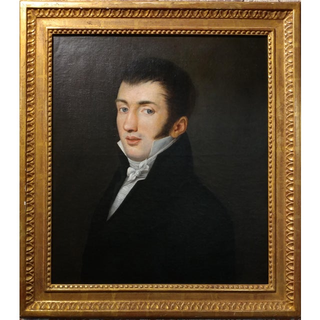 18th Century Portrait Oil Painting - Image 6 of 10