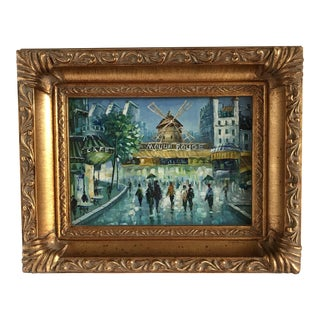 Petite Moulin Rouge Framed Painting