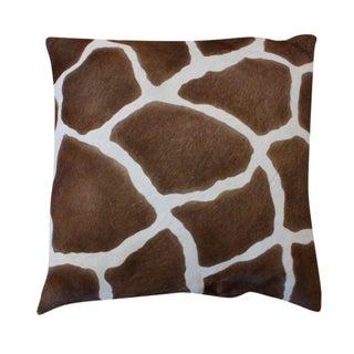 Oly Studio Ponyskin Zebra Print Pillow