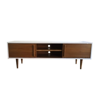 Custom Mid-Century Entertainment Console
