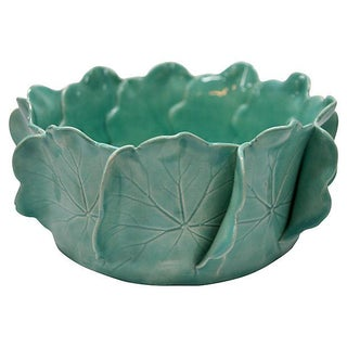 Geranium Leaves Bowl