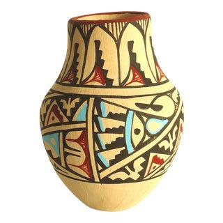 Jemez Native American Pottery Vase