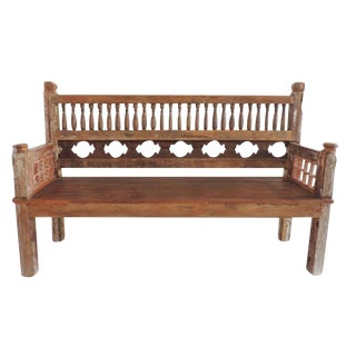 Colonial Balustrade Bench