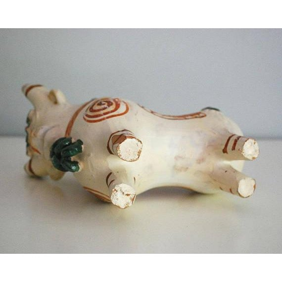 Vintage Peruvian Pottery Bull, Terra Cotta Torito De Pucara - Image 8 of 8