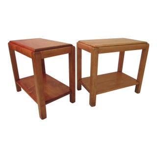 Russel Wright for Conant Ball Side Tables - A Pair