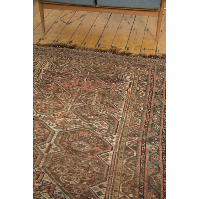 "Antique Kamseh Rug - 4'6"" x 6'8"" - Image 8 of 10"