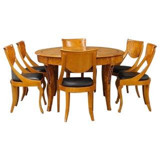 Lovely Biedermeier Dining Set