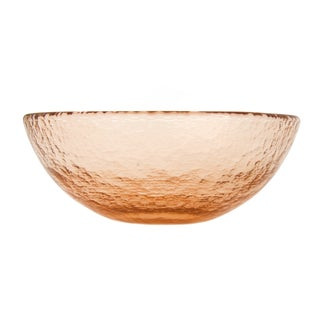Copper Fire & Light Salad Bowl