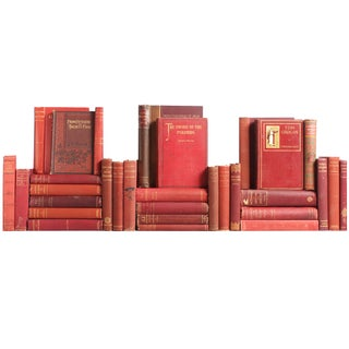 Antique Wine Shades Books - S/31