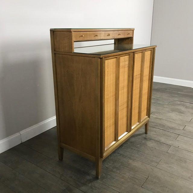 Mid century modern bar by west michigan furniture co
