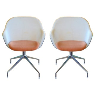 Antonio Citterio for B&b Italia Iuta Chairs - a Pair