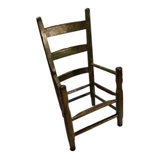 Antique Childrens Wooden Kitchen Chair