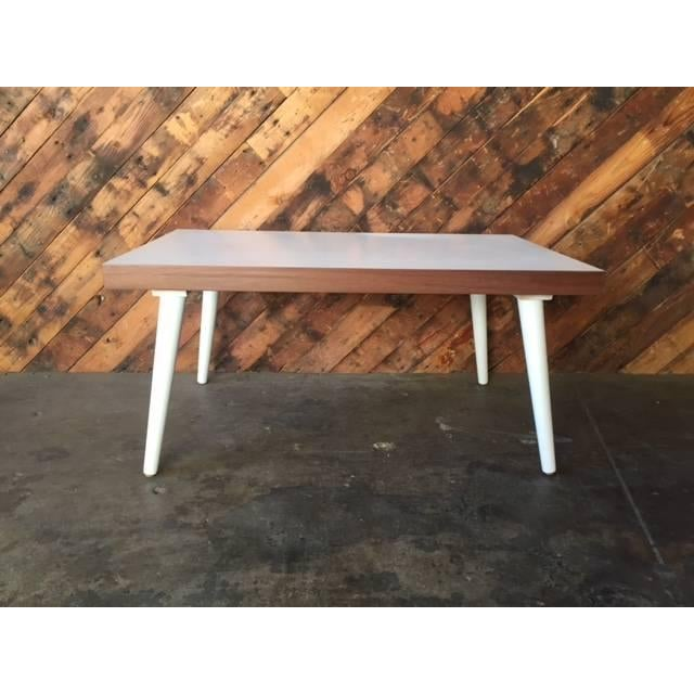 Image of Mid-Century White Coffee Table