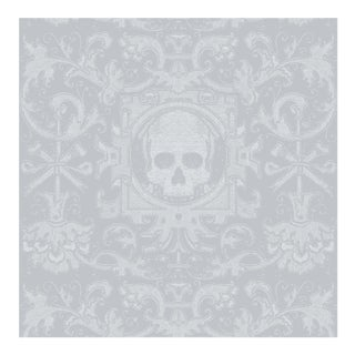 Skull Box Wallpaper Roll Remnant by Mitchell Black Home