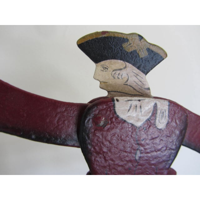 """The Duel"" Balancing Folk Art - Image 4 of 8"