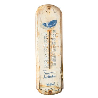 Vintage Any Weathers Pepsi Weather Thermometer