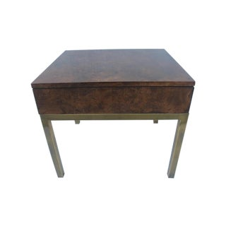 Tomlinson Burlwood End Table