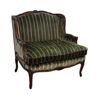 Custom Quality Vintage French Louis XV Loveseat