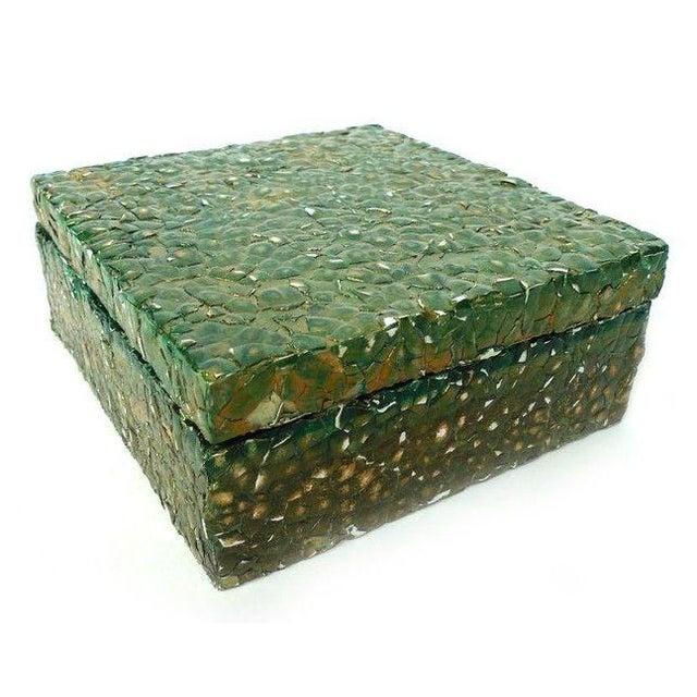 Image of Paul Wirhun Ostrich Eggshell Box