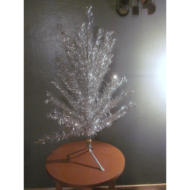 Aluminum Christmas Tree With Box Sleeves - 4' - Image 2 of 8