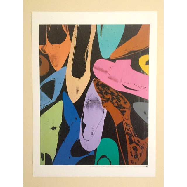"""Andy Warhol """"Diamond Dust Shoes"""" Offset Lithograph - Image 2 of 9"""