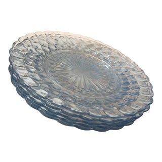 Anchor Hocking Bubble Dinner Plates - Set of 5