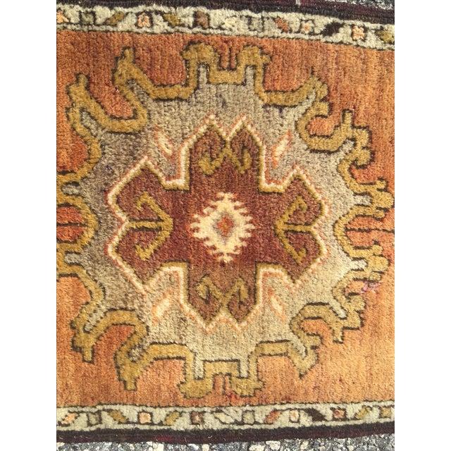 Vintage Anatolian Turkish Rug - 1′8″ × 3′4″ - Image 5 of 9