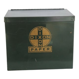 Industrial Dixon Metal Paper Box