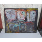 Image of The Wrong Leader - Abstract Expressionist Painting