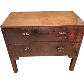 Sarreid Brass Dresser With Legs