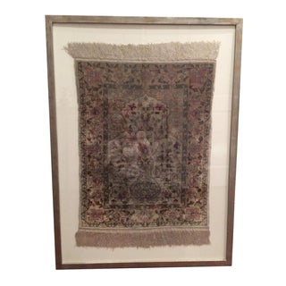 Framed Silk Hereke Rug
