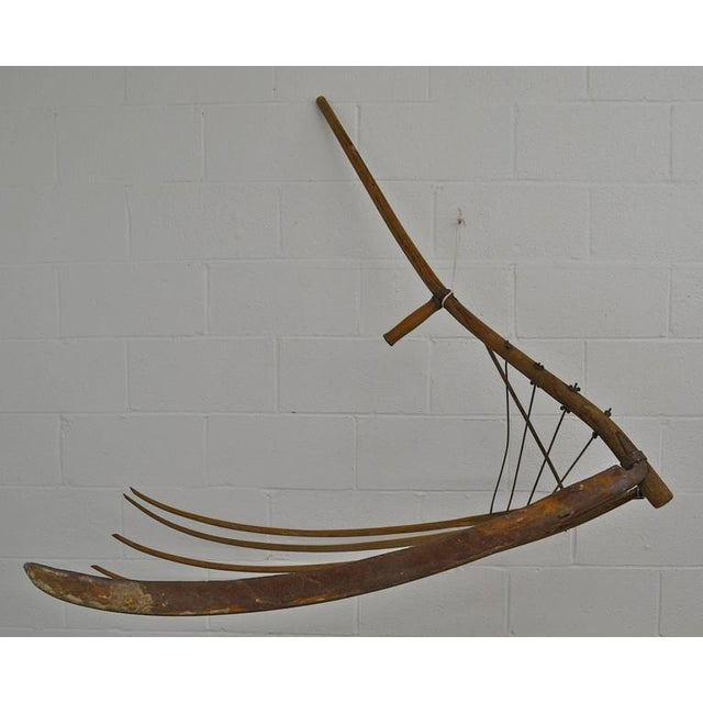 Antique Ash Cradle Scythe - Image 3 of 3