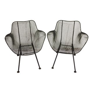Woodard Sculptura Patio Chairs - A Pair