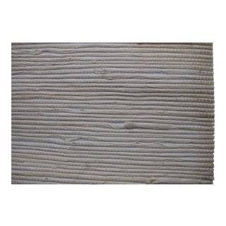 Schumacher Grasscloth Wallpaper 'Lushan Jute' White - 24' x 36""
