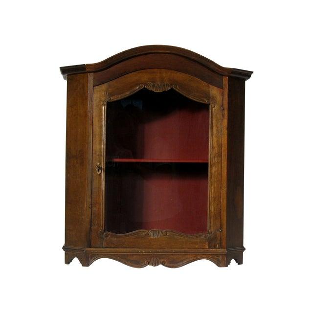 vintage italian vitrine chairish. Black Bedroom Furniture Sets. Home Design Ideas