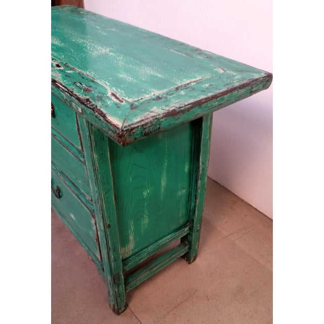Image of Soft Green Storage Cabinet